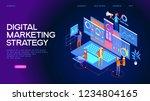 business analysis  content...   Shutterstock .eps vector #1234804165