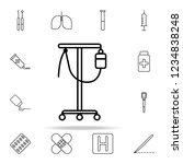 dropper line icon. hospital...   Shutterstock .eps vector #1234838248