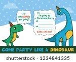 flat cartoon vector... | Shutterstock .eps vector #1234841335