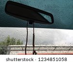 a windshield filled with rain... | Shutterstock . vector #1234851058