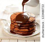 Chocolate Pancakes With...
