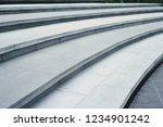 curvilinear stairs a modern... | Shutterstock . vector #1234901242