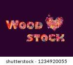 fashion design isolated on dark ... | Shutterstock .eps vector #1234920055