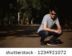 young man  on the street  | Shutterstock . vector #1234921072