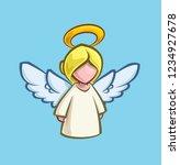 cartoon illustration of a... | Shutterstock .eps vector #1234927678