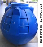 wastewater treatment tank... | Shutterstock . vector #1234927885
