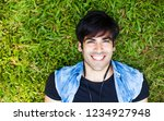 very handsome young indian man...   Shutterstock . vector #1234927948