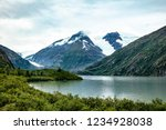 a view of the portage glacier... | Shutterstock . vector #1234928038