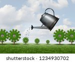 investing for future business... | Shutterstock . vector #1234930702