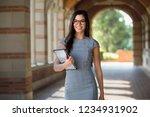 cheerful multiethnic business... | Shutterstock . vector #1234931902