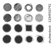 hand made scribble circle. hand ...   Shutterstock .eps vector #1234933792
