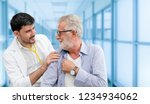 patient visits doctor at the...   Shutterstock . vector #1234934062