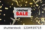 sale magic glitter confetti ... | Shutterstock .eps vector #1234935715