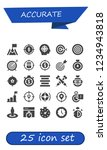 vector icons pack of 25 filled... | Shutterstock .eps vector #1234943818