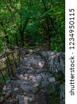 stone steps carved in the rock... | Shutterstock . vector #1234950115