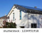 Rooftop Of Buildings With Solar ...