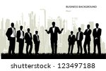 on the image the group of... | Shutterstock .eps vector #123497188