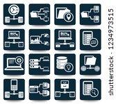 network and database vector... | Shutterstock .eps vector #1234973515