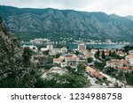 aerial view of kotor   a city... | Shutterstock . vector #1234988758