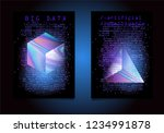 set of posters for ai ... | Shutterstock .eps vector #1234991878