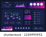 data dashboard. modern...