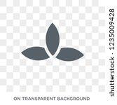 pagan icon. trendy flat vector... | Shutterstock .eps vector #1235009428