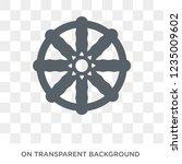 buddhism icon. trendy flat... | Shutterstock .eps vector #1235009602