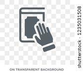 oath icon. trendy flat vector...   Shutterstock .eps vector #1235031508