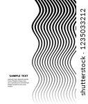 white black color. linear... | Shutterstock .eps vector #1235033212