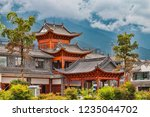 view of traditional temple... | Shutterstock . vector #1235044702