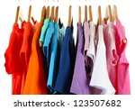 choice of clothes of different... | Shutterstock . vector #123507682