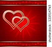 valentine's day vector...   Shutterstock .eps vector #123514765