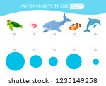 matching children educational... | Shutterstock .eps vector #1235149258