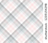 plaid pattern in pale grey ... | Shutterstock .eps vector #1235154298