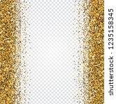 golden glitter abstract...   Shutterstock .eps vector #1235158345