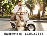 image of a handsome young...   Shutterstock . vector #1235161555
