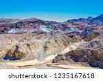 scenic road artists drive in... | Shutterstock . vector #1235167618