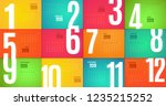 wall monthly 2019 calendar.... | Shutterstock .eps vector #1235215252