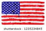 american flag background... | Shutterstock .eps vector #1235234845
