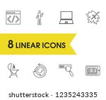 package icons set with code ...