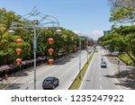 labuan  malaysia   march 4 2018 ... | Shutterstock . vector #1235247922