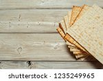 jewish traditional passover... | Shutterstock . vector #1235249965