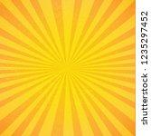 vintage sunburst poster   Shutterstock . vector #1235297452