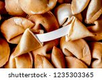 many chinese fortune cookie...   Shutterstock . vector #1235303365