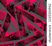 abstract seamless grunge... | Shutterstock .eps vector #1235303962