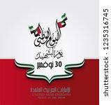 united arab emirates national... | Shutterstock .eps vector #1235316745