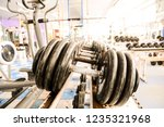 equipment and machines at the... | Shutterstock . vector #1235321968