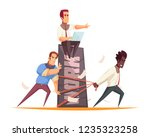business people design concept... | Shutterstock .eps vector #1235323258