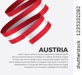 austria flag for decorative.... | Shutterstock .eps vector #1235332282