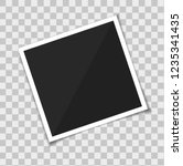photo picture frame polaroid.... | Shutterstock .eps vector #1235341435